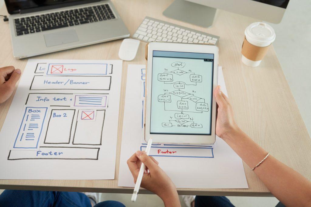 marketing internetowy - projekt strony