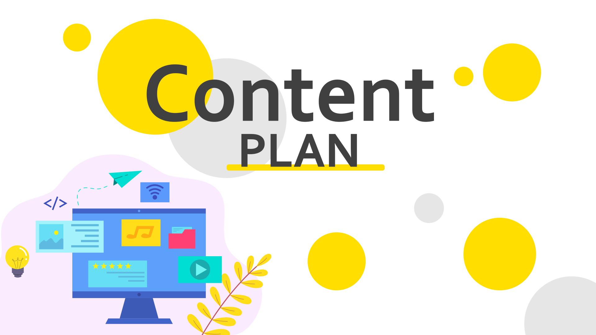 content plan a seo